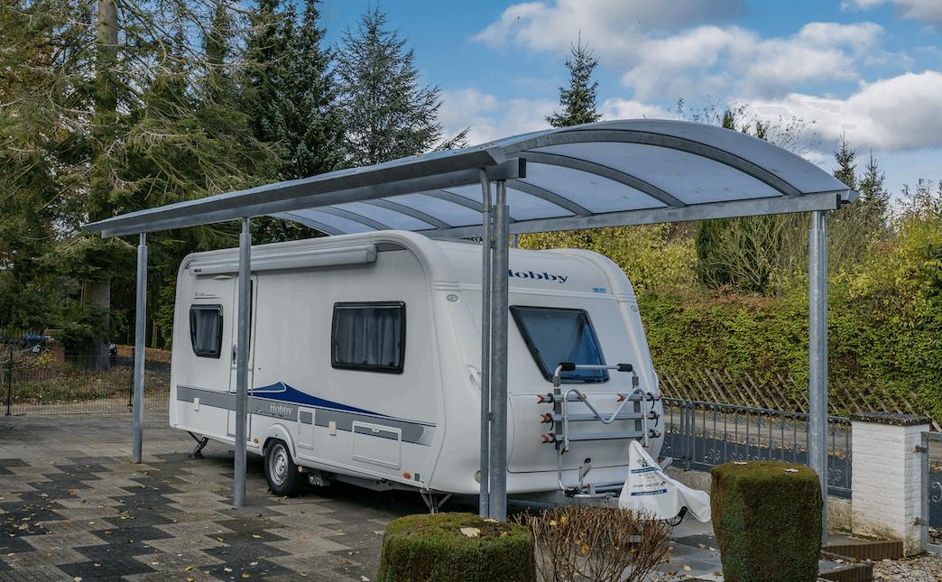 Häufig Carports für Wohnwagen & Camper, maßgefertigt von Lyngsøe JP04