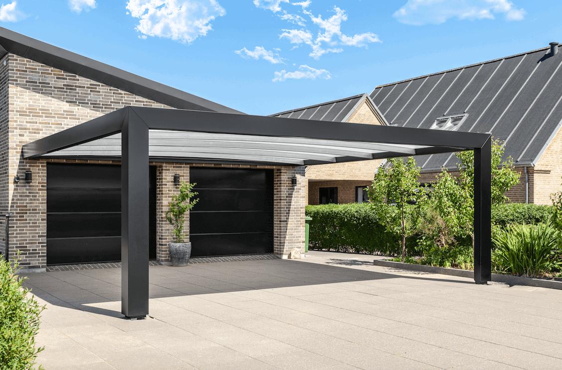 Kubic Carport - tollen Design-Carport aus Stahl hier kaufen